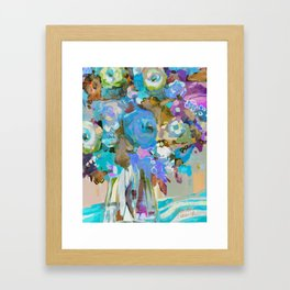 Bloom Fresh, Rest Well Framed Art Print