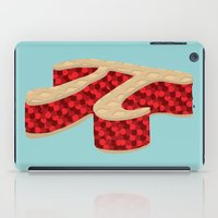 pie iPad Cases featuring Pi Pie by Rryan