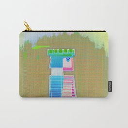 QUEEN / White / Chess Carry-All Pouch
