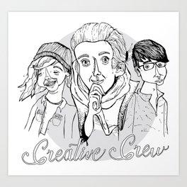 Creative Crew Art Print