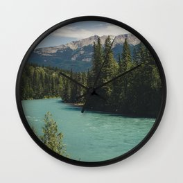 Tête Jaune Cache Wall Clock