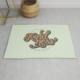 Clothe Yourself with Kindness Rug
