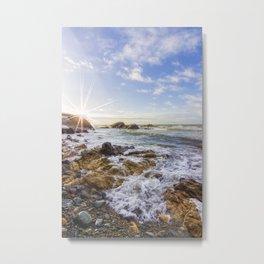 Ocean Surf Metal Print