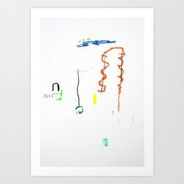 Shapes V Art Print