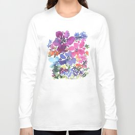 Pretty Poppy Patch Long Sleeve T-shirt