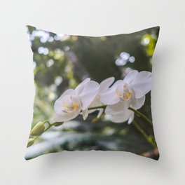 Flower, Royal Botanic Garden Edinburgh Throw Pillow