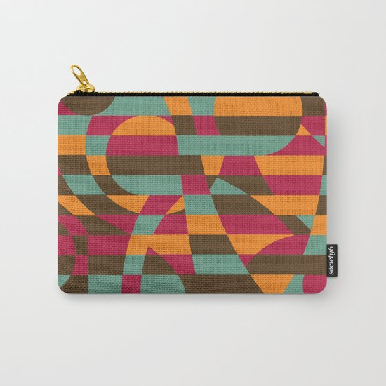Abstract Graphic Art - Roller Coaster Carry-All Pouch