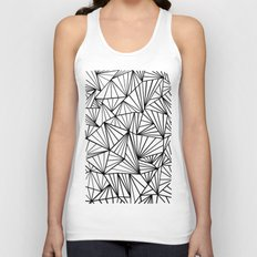 Ab Fan #2 White Unisex Tank Top