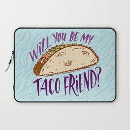 Taco Friend Laptop Sleeve