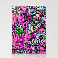 kirby Stationery Cards featuring Kirby Error by Coolthulhu