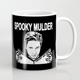 Spooky Mulder (black) Coffee Mug