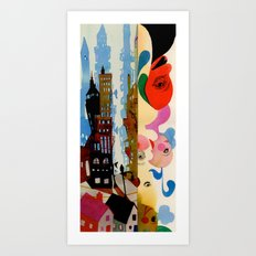 New City Art Print