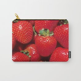 Garden Strawberries Carry-All Pouch