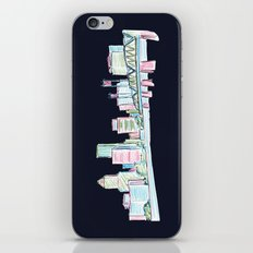 Portland - Midnight Version  iPhone & iPod Skin
