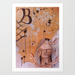Till The Bandages Come Off Art Print