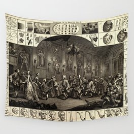 The Analysis of Beauty Wall Tapestry
