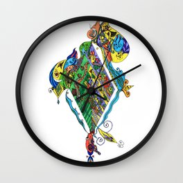 BeYond CoLor Wall Clock