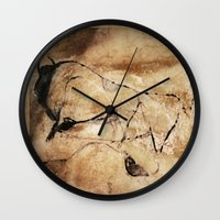 picasso Wall Clocks featuring Before Picasso by anipani