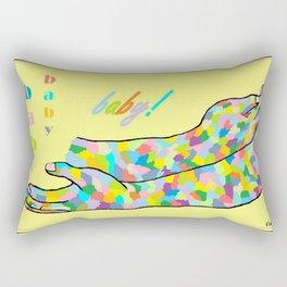 American Sign Language BABY Rectangular Pillow