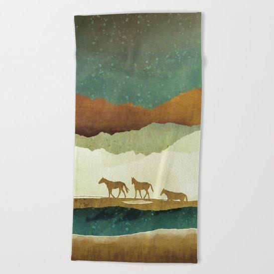 Star Range Beach Towel