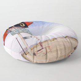 Route 66 Floor Pillow