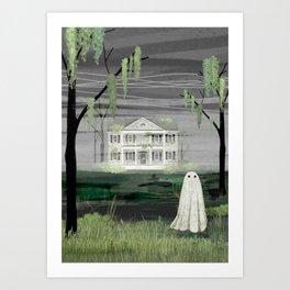 Walter's House Art Print