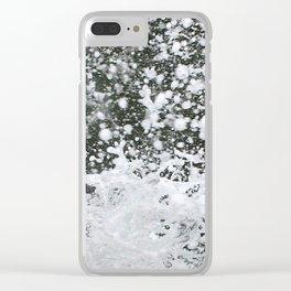 watersplash Clear iPhone Case
