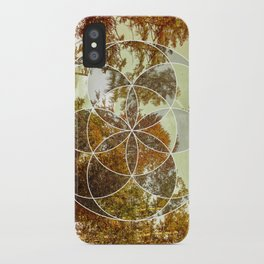 Autumn Meditation iPhone Case