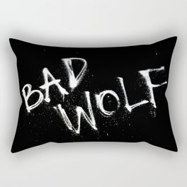 Doctor Who Bad Wolf Rectangular Pillow
