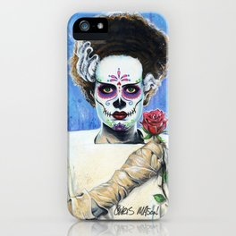 BRIDE OF THE DEAD iPhone Case
