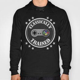 Classically Trained Retro 4 Button Video Game Shirt Hoody