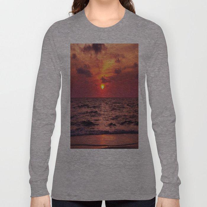 Tropical Sunset Long Sleeve T-shirt