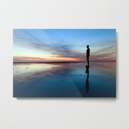 Another Place, Crosby Beach Metal Print