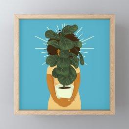Plant Momma Framed Mini Art Print