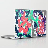 lungs Laptop & iPad Skins featuring Lungs by LAM Hamilton