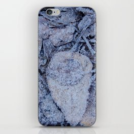 Frost & Leaves iPhone Skin