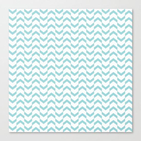 Limpet shell chevron  Canvas Print