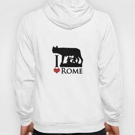 I Love Rome GI Love Rome Graphic Iconraphic Icon Hoody