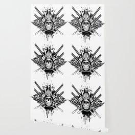 Skull Warrio katana Wallpaper