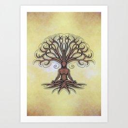 Kalpavriksha  Wishing Tre Art Print