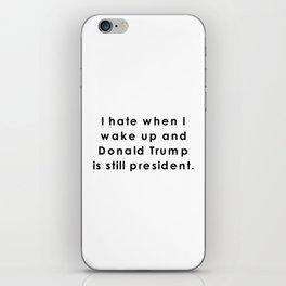 still donald trump iPhone Skin