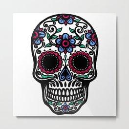 Sugar Skull 10 Metal Print
