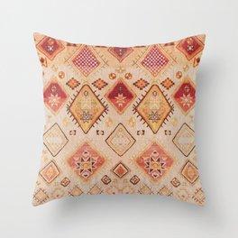 N182 - Sahara Desert Bohemian Moroccan Eclectic Style Throw Pillow