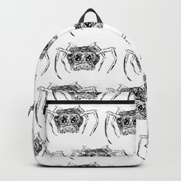 A Creepy Spider Creature Pattern for Halloween! Backpack