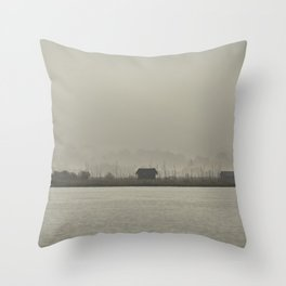 Inle Lake Throw Pillow