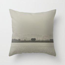 Inle Lake Throw Pillow