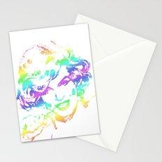Diamonds are a girls best friend-rainbow Stationery Cards