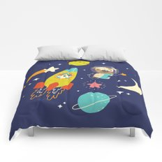 Space Critters Comforters