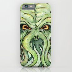 Cthulhu HP Lovecraft Green Monster Tentacles Slim Case iPhone 6
