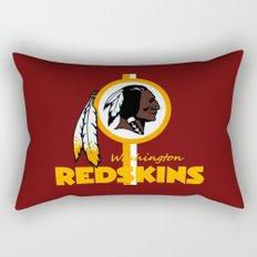 Redskins BEST logo  Rectangular Pillow
